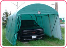 for portable l cook shelter tarp storage temporary garage buildings tent